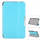 Protective PU Leather Full Body Case w/ Stand / Magnetic Closure for LENOVO MIIX2 8 - Light Blue