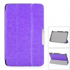 Protective PU Leather Full Body Case w/ Stand / Magnetic Closure for LENOVO MIIX2 8 - Purple