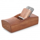 Handy Mini 10cm Carpenter's Woodworking Plane Tool - Reddish Brown + Silver
