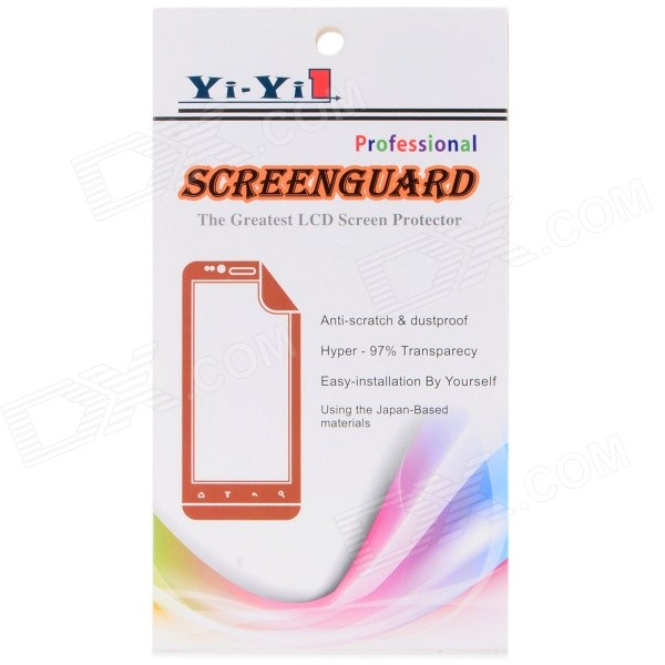 Protective Matte PET Screen Protector for IPHONE6 - Transparent (3PCS)