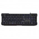 DY DY-K601 USB2.0 Wired 104-key Backlight Game Keyboard - Black