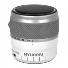 HYUNDAI i700 Bluetooth V3.0 Speaker w/ Mic / TF / FM / Voice Prompt - Black + White (32GB Max.)