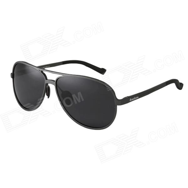 Reedoon 2287 Aerospace Aluminum Magnesium Men's Polarized Sunglasses - Gun Gray