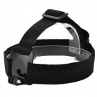 Highpro PC + Nylon Helmet Strap Mount for GoPro Hero 2 / Hero 3 / 3 - Black