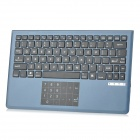 CWBT-31 V1 2.4GHz Thin Wireless Bluetooth V3.0 Keyboard w/ Touch Numeric Keypad - Taupe