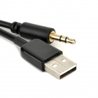 1-a-2 USB macho a 9 pines Micro V3.0 USB macho + 3.5mm Audio Cable para Samsung Nota 3 N9000 / S5