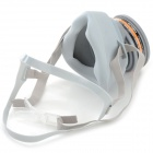 Activated Carbon Chemical Gas Respirator Dust Filter Mask - Grey
