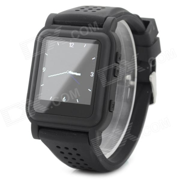цена на Q998 1.5 TFT Screen MP4 Multimedia Wristwatch - Black (2GB / Li-ion Battery)