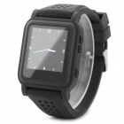 "Q998 1.5"" TFT Screen MP4 Multimedia Wristwatch - Black (2GB / Li-ion Battery)"