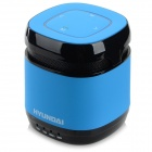 HYUNDAI Bluetooth V3.0 1-CH 3.5mm Speaker w/ FM / TF - Blue