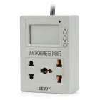 PMS2210E Smart Power Meter Socket - Dark Grey (EU Plug / AC 220V)