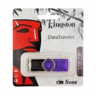 Kingston Digital Datatraveler 101 G2 USB 2.0 Flash Drive - Purple (32GB)