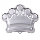 YF3404 Crown Aluminum Cartoon Model DIY Baking Cake Mold - Silver