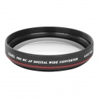 Universal 77mm 0.45X Wide Angle Lens for Camera / DV - Black