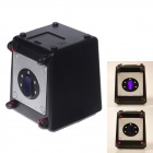 4-Digit Code Laser Beam Safe Money Bank - Black + Silver (3 x AA)