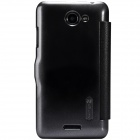 NILLKIN Protective PU Leather + PC Case Cover for HTC D316D / D516T - Black