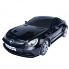 DongXin Mercedes-Benz SL65-speed Remote Control Steering Wheel 1:18 Car Drift Charge - Black