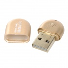 Mini Portable USB 2.0 Powered Wi-Fi Access Point Wireless Network Adapter - Golden