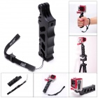 Fat Cat High Precision CNC Aluminum Alloy Extension Tactical Grip for Gopro Hero 4/ 3+/3/2/1/SJ4000