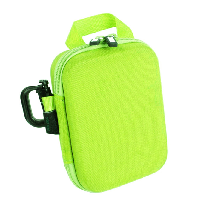 TMC Medium size Protective EVA Camera Storage Bag for Gopro Hero 4/ 3+ / 3 / 2 - Green neopine travel portable camera accessories storage bag for gopro hero 2 3 3 4 red
