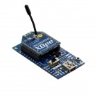 Bee USB to Serial Adapter V2.0 Board + XBee S1 120M Wireless Data Transmission Module for Arduino