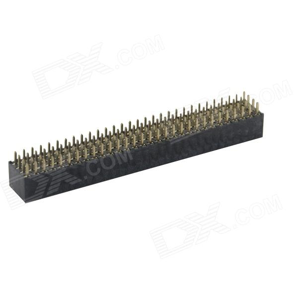XGHZ 2.54mm 4 x 30 DIP Type Female Headers - Black (2 PCS)