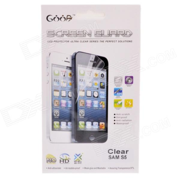 Rensa Screen Protector Film Guard för Samsung Galaxy S5 - Transparent