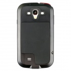 Redpepper Case Aluminum Alloy Shockproof Dustproof Case for Samsung i9500 - Black