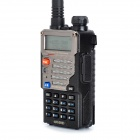 Baofeng UV-5RE 5W Dual Band 128-CH Walkie Talkie w/Charging Dock-Black