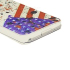 Kinston å forsvare USA mønster PU skinn Full Body tilfelle for Samsung Galaxy S5