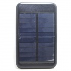 "JY-6000T Solar Powered ""5000mAh"" Li-polymer Battery Mobile Power Bank for IPHONE / Samsung"