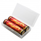 "TrustFire 18650 3.7V ""3000mAh"" Protected Li-ion Batteries (2 PCS)"