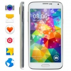 "No.1 S7+ MTK6592 Octa-Core Android 4.3 WCDMA Smartphone w/ 5"", 1GB RAM, 8GB ROM, Dual Camera - White"
