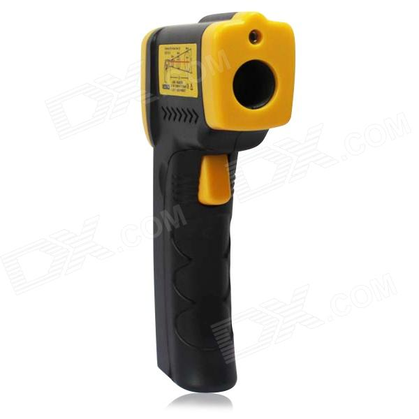 GAOMU TD8380 1.2'' LCD Digital Infrared Thermometer - Yellow and Black - deals - deals