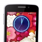"Mixc G7108 MTK6572 double-core Android 4.4 WCDMA Bar Phone avec IPS 4.3 "", Wi-Fi, GPS-Blanc + Noir"