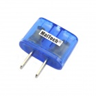 MaiTech 10A 1500W US Power Conversion Plug Socket / Adapter - Blue (125~250V)