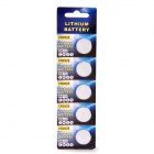 Rechargeable LIR2025 Lithium Button Batteries (5 PCS / 3.6~4.2V)