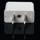 HW016A 200W EU / EU / AU Socket à US Plugs Adaptateurs secteur - Blanc (10 PCS / 125 ~ 250V)