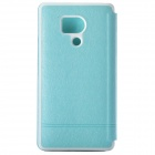 KALAIDENG Protective PU Leather Case Cover Stand for HUAWEI Honor 3 (OUTDOOR) - Blue