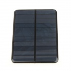 DIY GDW 112 x 82mm 1W Solar Powered Charging Panel - Black