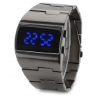 ShiFenMei Men's Fashionable 1.1'' LCD Zinc Alloy Wristband Digital LED Wrist Watch (1 x CR2032)