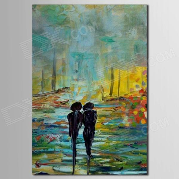 iarts-landscape-lovers-walking-along-countryside-hand-painted-oil-painting