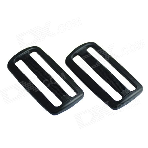 Acecamp 7049 Heavy-duty Plastic Tri-glide Buckles - Black (2 PCS / 50mm)