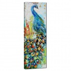 Iarts AHA050601 Animal Knife Painted Peacock Hand Painted Oil Painting