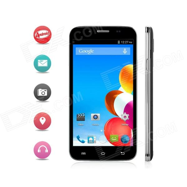 Otium S5 MTK6582 Quad-Core Android 4.4.2 WCDMA Smartphone w/ 5 IPS, OTG, Wi-Fi and GPS - Black