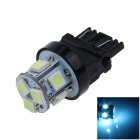 3157 / 3156 2W 160lm 8-SMD 5050 LED Ice Blue Light Car Steering / Brake / Tail Lamp (12V)