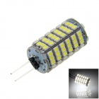 G4 6W 500lm 6000K 120-SMD 1210 LED White Light Car Instrument / Leselampe (DC 12V)