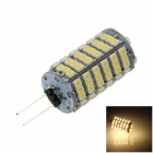 G4 6W 500lm 3000K 120-SMD 1210 LED Warm White Light Car Instrument / Reading Lamp (DC 12V)
