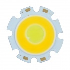 WaLangTing COB LED 3W 300lm 6500K Warm White / White Round Light Module - Yellow (9~11V)