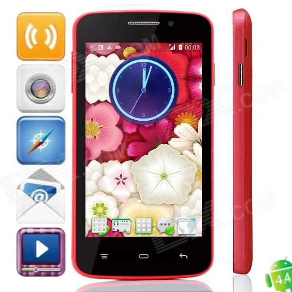 Mixc G7108 MTK6572 Dual-core Android 4.4 WCDMA Bar Phone w/ 4.3